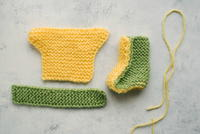 Irresistible Knit Baby Booties
