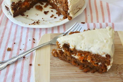Carrot Cake wCream Cheese Frosting