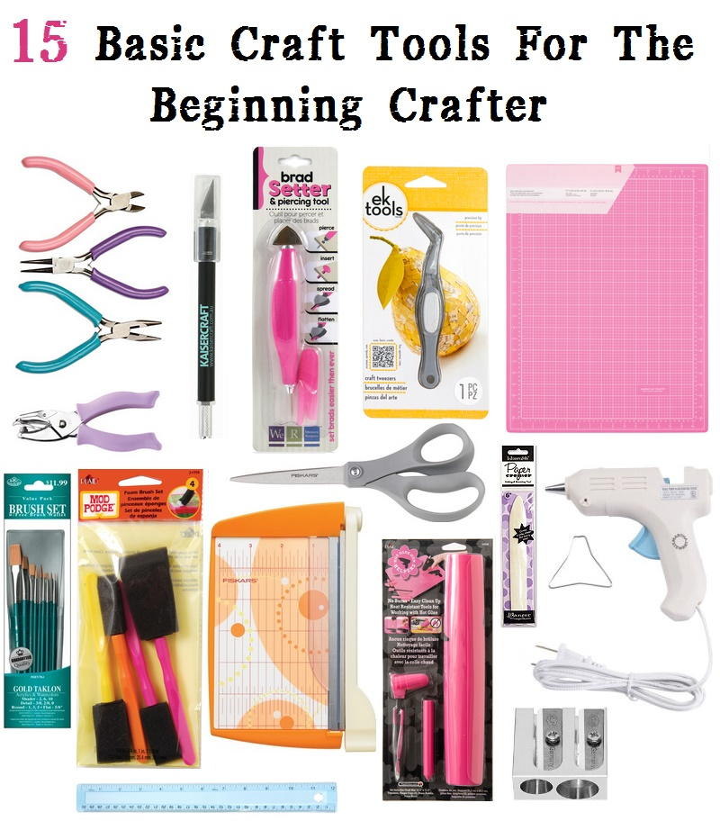 15 Basic Tools For The Beginning Crafter Favecrafts Com