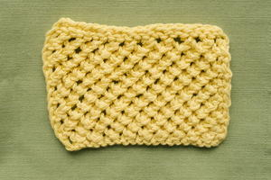 How to Knit the Basic Mesh Stitch