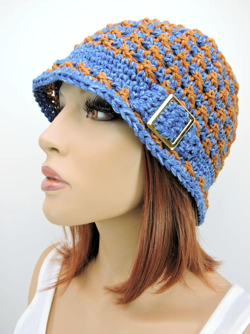 Speckled Cloche Hat
