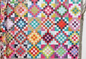 Checkered Garden Quilt Tutorial