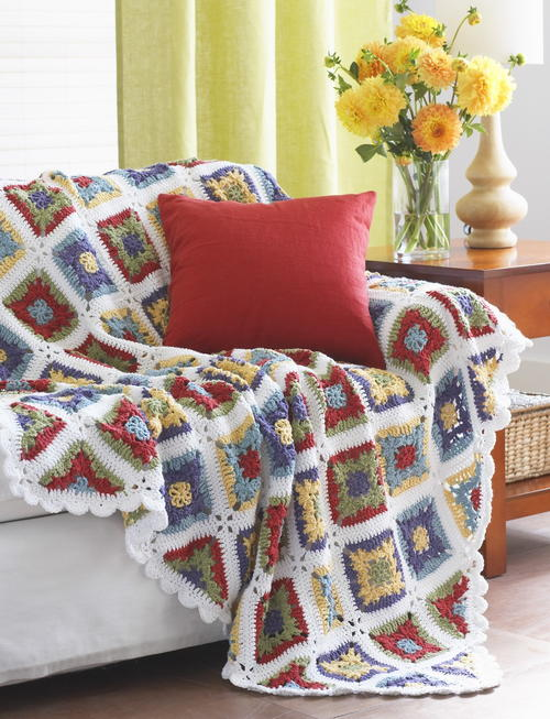 Country Charm Crochet Blanket Pattern