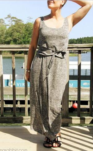 Layered Bodice Maxi Dress