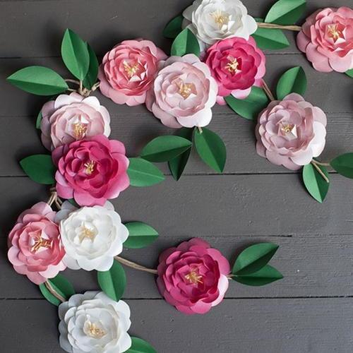 Camellia diy paper flowers allfreepapercrafts camellia diy paper flowers mightylinksfo