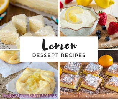 41 Luscious Lemon Dessert Recipes