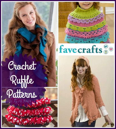 16 Crochet Ruffle Patterns | FaveCrafts.com