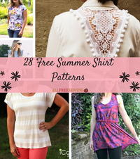 28 Free Summer Shirt Patterns