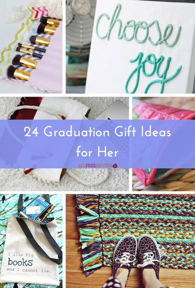 24 graduation gift ideas for her allfreesewing 24 graduation gift ideas for her negle Gallery
