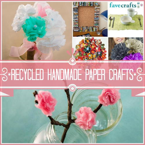 33 Recycled Handmade Paper Crafts Favecrafts
