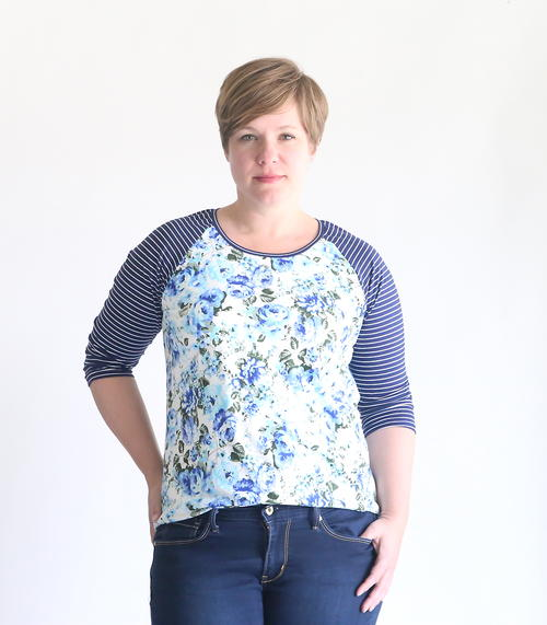 Summer Raglan Tee Pattern