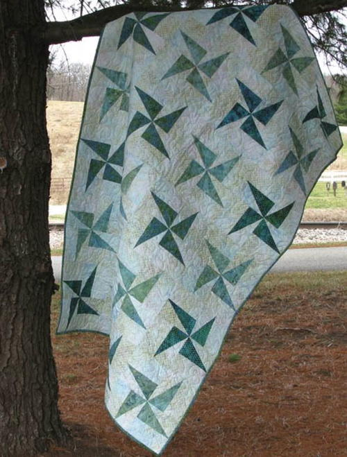 Windmills by the Sea Shore Quilt Pattern
