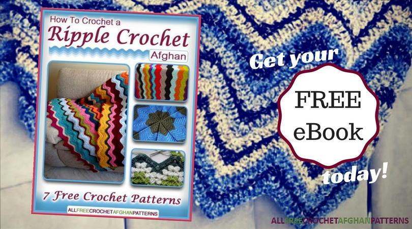 How To Crochet A Ripple Crochet Afghan 7 Free Crochet Patterns Free