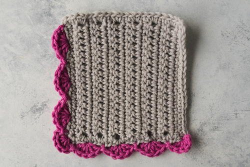 How to Crochet Sweet Shell Edging