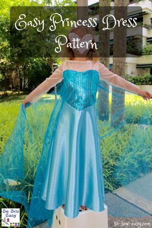 Easy Princess Dress Pattern