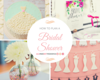 How to Plan a Bridal Shower: Helpful Bridal Shower Planning Checklist