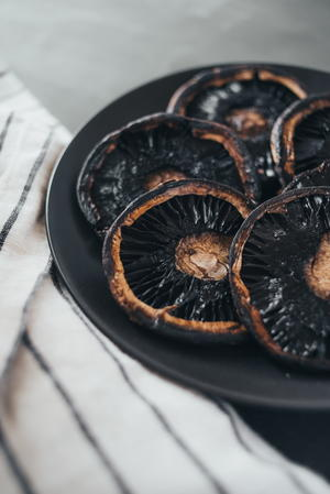 Roasted or Grilled Portobello Caps