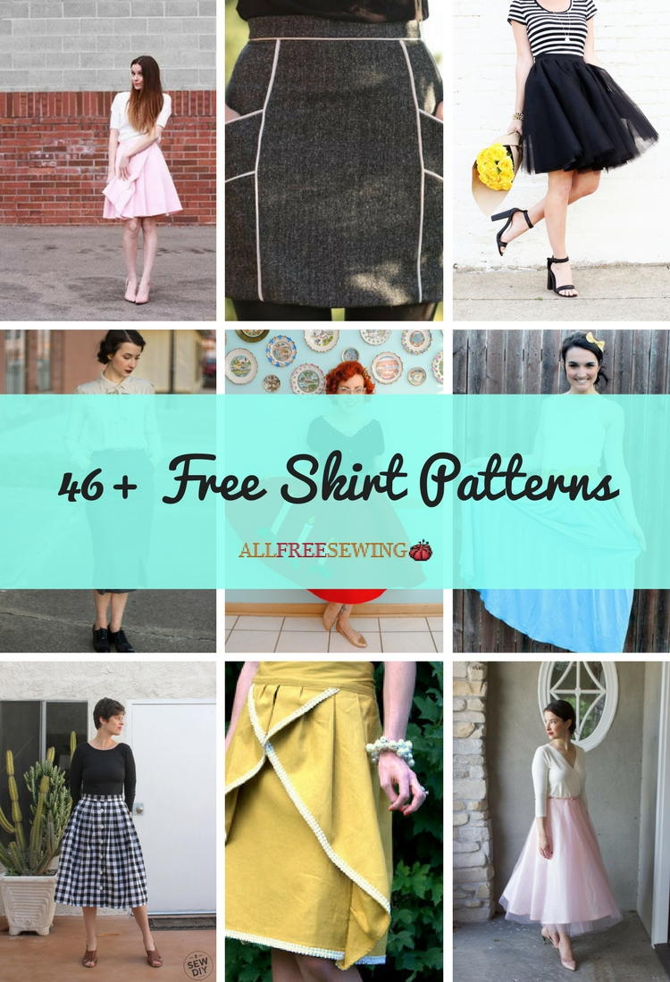 46+ Free Skirt Patterns | AllFreeSewing.com
