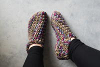 One Hour Crochet Slippers