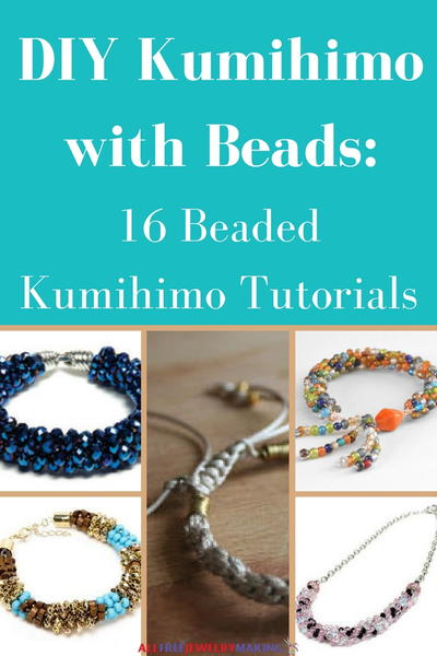 DIY Kumihimo with Beads 16 Beaded Kumihimo Tutorials