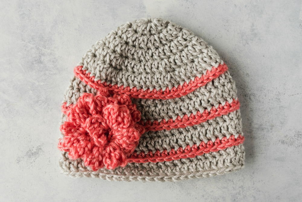 Quick Crochet Flower Hat Allfreecrochet
