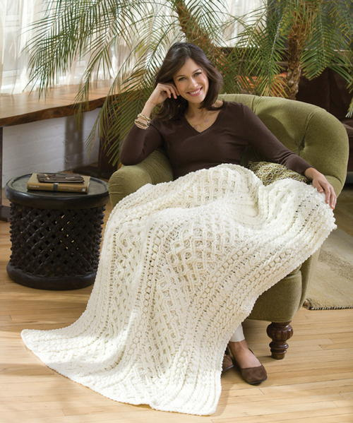 Lattice Crochet Cable Pattern