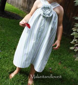 Upcycled Dress for Girls