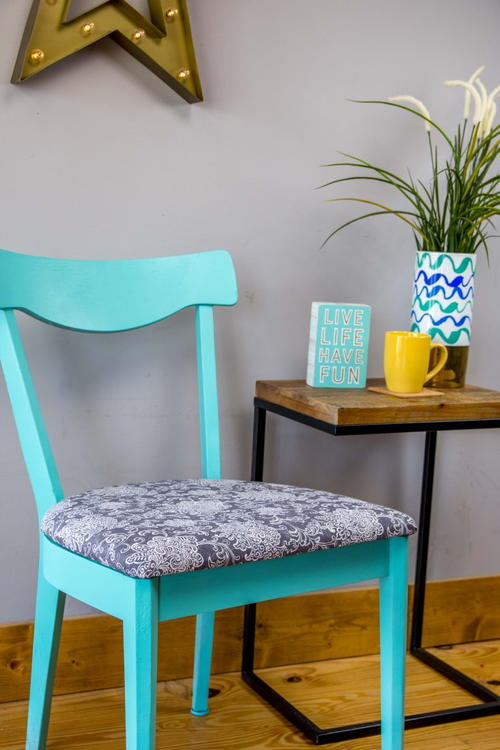 DIY Revamped Chair Set