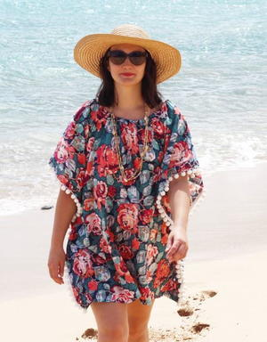 Vintage Inspired Seaside Coverup