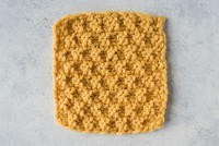 Easy Knit and Purl Dishcloth