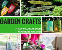 47 Garden Crafts That Will Make Your Neighbors Jealous