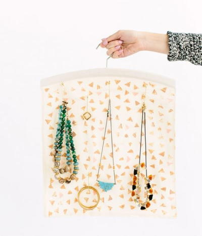 Hanging DIY Jewelry Holder