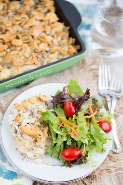 Comforting Poppy Seed Chicken Casserole