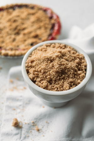 Cinnamon Sugar Crumb Topping