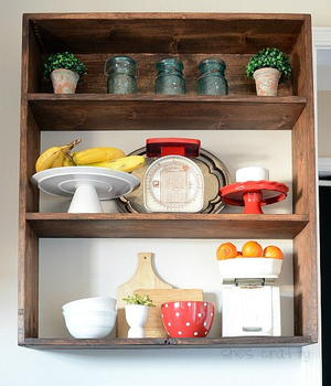 Rustic Wooden DIY Wall Shelf