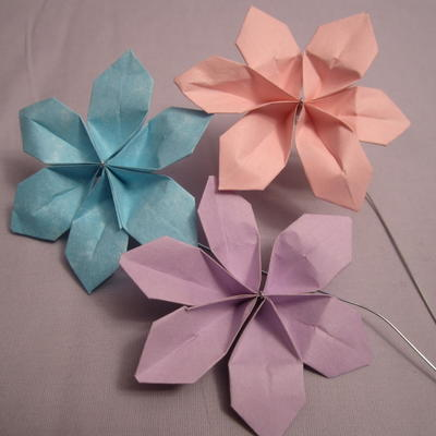 Sweet and easy diy paper flowers allfreepapercrafts sweet and easy diy paper flowers mightylinksfo
