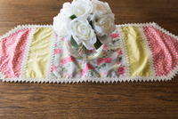 Stunning Vintage Table Runner