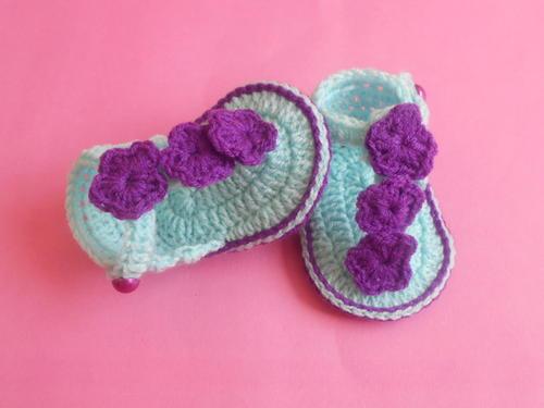 Baby Sandals Pattern Allfreecrochet