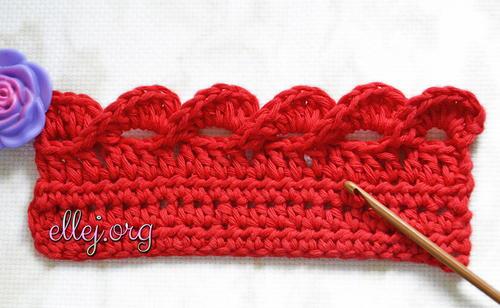 How To Crochet The 3d Wave Edge Allfreecrochet