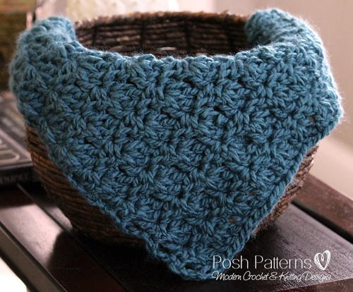 Easy Chunky Baby Blanket Crochet Pattern AllFreeCrochet Adorable Easy Blanket Crochet Patterns