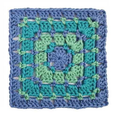 Block Stitch Crochet Granny Square Allfreecrochetafghanpatterns