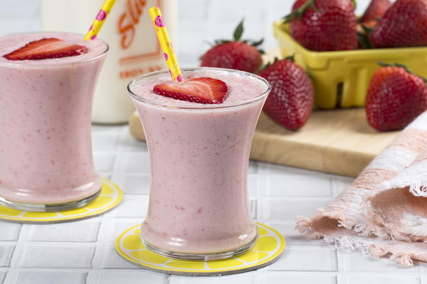 Strawberry Patch Smoothies