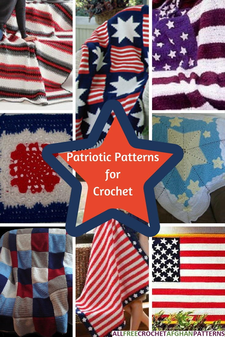 Stars and Stripes: 22 Patriotic Patterns for Crochet ...