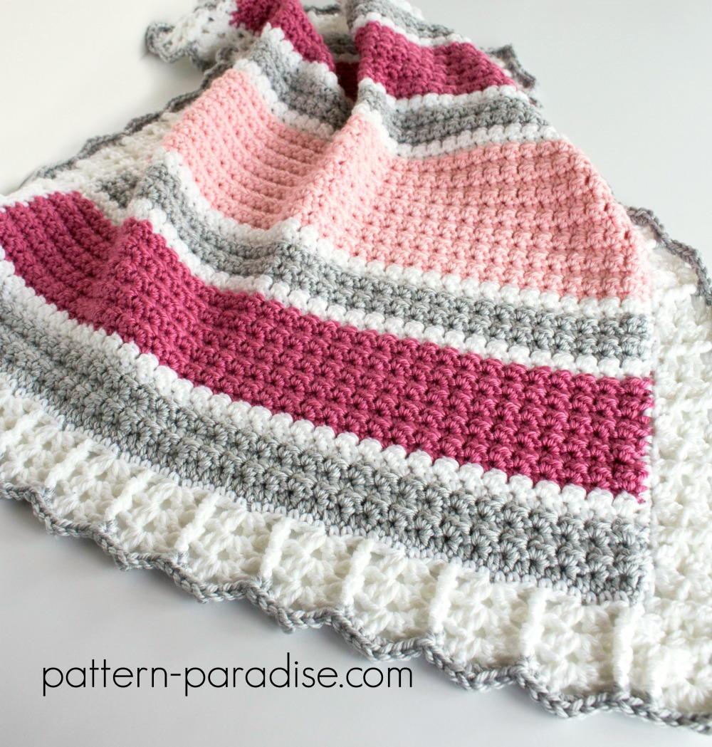 Essentials Baby Blanket | AllFreeCrochet.com