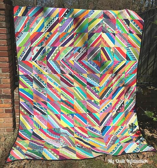 Vortex String Quilt Tutorial Favequilts