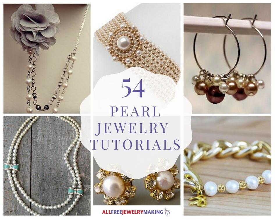 54 Pearl Jewelry Tutorials | AllFreeJewelryMaking.com