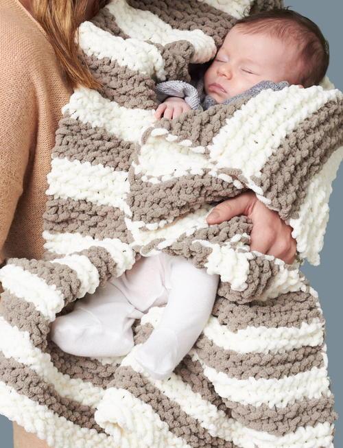 In A Wink Baby Blanket Allfreeknitting