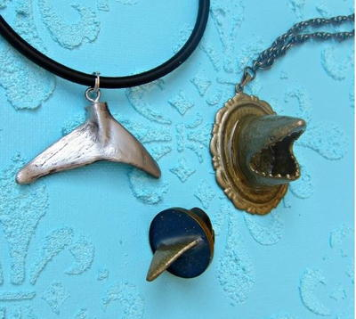 Cool Shark DIY Pendant