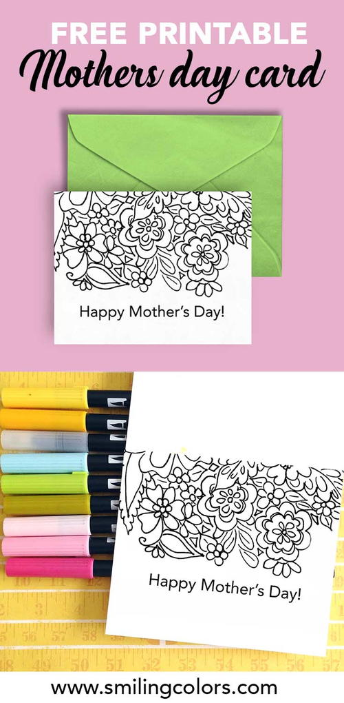Free Printable Mother's Day