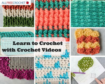 85 Learn To Crochet Videos Allfreecrochet
